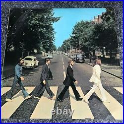 LP VINYL ALBUM THE BEATLES ABBEY ROAD UK 1st PRESS 1969 PCS 7088 VG/EX