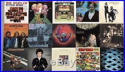 Lot Of 15 CLASSIC ROCK Vinyl LP Record Albums FLEETWOOD MAC BEATLES THE WHO