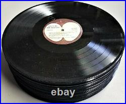 Lot of 50 Record Albums Rock & Roll Vinyl Only Beatles Pink Floyd Ozzy Zeppelin