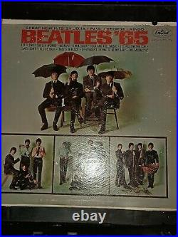 Lot of 7 Beatles Albums