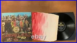 Lp The Beatles Sgt Peppers. (1967) 1st Pressing Fourth Proof Sleeve Pmc 7027