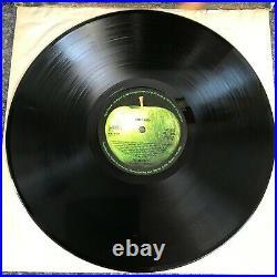 Lp Vinyl The Beatles Abbey Road Misaligned Apple Uk 1st Press Pcs 7088 Ex/ex