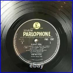 Lp Vinyl The Beatles Rubber Soul Loud Cut Uk 1st Press Pmc 1267 Mono 1965 Superb