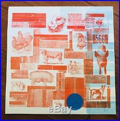 Melvins BULLHEAD Vinyl Am Rep Letterpress Mackie The beatles