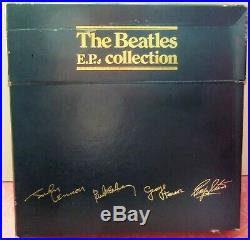 NEVER PLAYED! THE BEATLES EP Collection BEP-14 Blue Box Set All Vinyl MINT