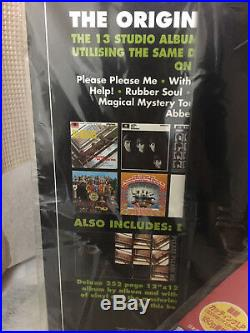 ##NEW SEALED## THE BEATLES LP BOX TOJP-60200 14 Titles = 16 LP Vinyls F/S