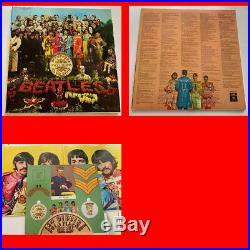 Nm The Beatles Collection 14 Lp Blue Box Bc-13 Italian Analogue Vinyl Lennon