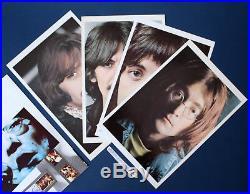 Orig 1968 Apple White Vinyl The Beatles White Album Vinyl Lp Photos Poster Ex+