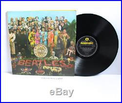 Original 1967 Uk The Beatles Sgt Peppers Lonely Hearts Club Band Vinyl Lp Ex+