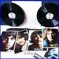 Original 1968 Uk Promo The Beatles White Album Vinyl Lp Factory Sample Ex+ Rare