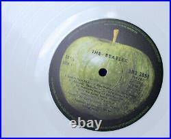 Original Apple White Vinyl The Beatles White Album France 2 Lp Nm Rare