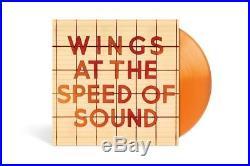 PAUL McCARTNEY COLORED VINYL 180 gm. 8 LP SET LOT BAND ON THE RUN BEATLES WAX