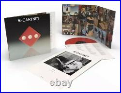 Paul McCartney III Red Vinyl LP Limited Edition 3000 Copies SOLD OUT The Beatles