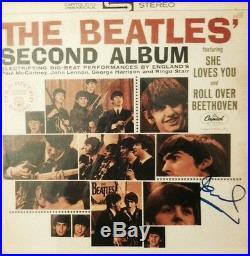 Paul McCartney Signed Album The Beatles Autographed Vinyl 2nd Exact Photo Proof