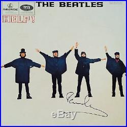 Paul McCartney Signed Album The Beatles Autographed Vinyl HELP! With Photo Proof