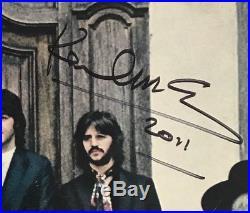 Paul McCartney autographed Vinyl Record HEY JUDE Vinyl. The Beatles