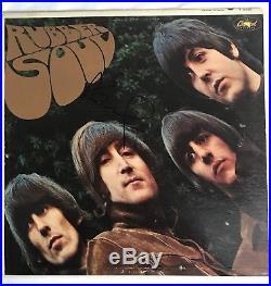 Paul McCartney autographed Vinyl Record Rubber Soul The Beatles