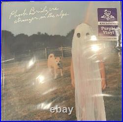 Phoebe Bridgers STRANGER IN THE ALPS sealed 1st press Lavender Purple vinyl LP