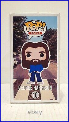 Pop Funko CUSTOM GEORGE HARRISON The Beatles Exclusive Collectible Abbey Road