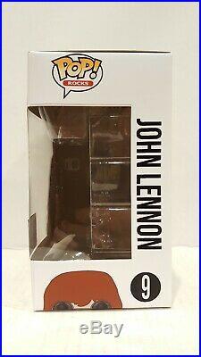 Pop Funko CUSTOM JOHN LENNON The Beatles Exclusive Collectible Abbey Road Vinyl
