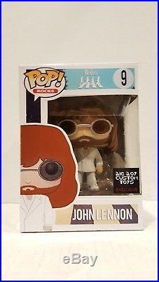 Pop Funko CUSTOM JOHN LENNON The Beatles Exclusive Collectible Rocks Chase Vinyl