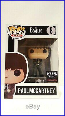 Pop Funko CUSTOM PAUL MCCARTNEY The Beatles Exclusive Collectible Chase Vinyl