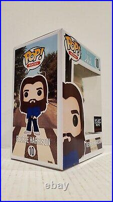 Pop Funko GEORGE HARRISON CUSTOM Exclusive Collectible The BEATLES Abbey Road