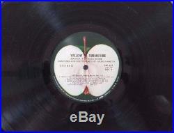 Promo The Beatles Yellow Submarine Vinyl Free Album Lp Record Re8