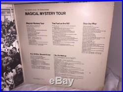 RARE 1967 The Beatles Magical Mystery Tour LP Record YELLOW VINYL Parlaphone