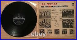 RARE FRENCH LP THE BEATLES HORSE COVER ODEON OSX 231 AMAZING CONDITION WithTAG SAL