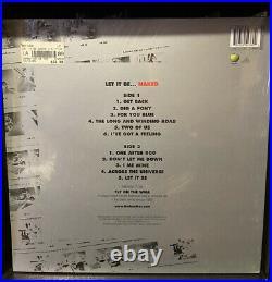 RARE SEALED Beatles Let It Be Naked UK 2003 LP 7 Inch McCartney Lennon