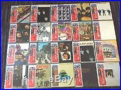 RARE The Beatles 20 Vinyl Apple LP Record Set 1980's Japan Label with Obi Mint