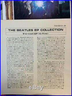 RED Vinyl THE BEATLES EP COLLECTION EAS-30013-26 JAPAN BLUE BOX 15x7 45rpm EP