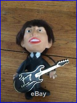 REMCO 1964 The Beatles Vinyl Dolls Complete Set with Instruments