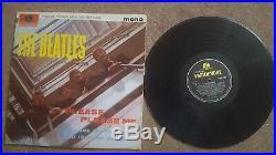 Rare 1963 original vinyl the Beatles please please me album mono