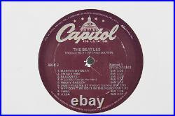 Rare Beatles White Album Double EP White Vinyl Purple Label Capitol SEBX-11841