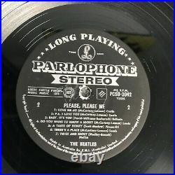 Rare Lp The Beatles Please Please Me Australian 1st Press Stereo 1964 Vg/ex