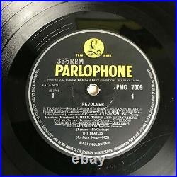 Rare Lp Vinyl Album The Beatles Revolver 1966 Uk 1st Press Ex/ex