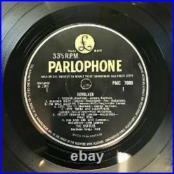 Rare Lp Vinyl Album The Beatles Revolver 1966 Uk 1st Press Ex/vg+