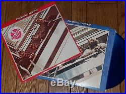 SEALED The Beatles 1962-66 plus 1967-70 Double LPs Red & Blue COLORED VINYL