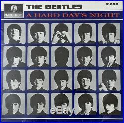 THE BEATLES A Hard Day's Night ORIGINAL 1964 UK FIRST Pressing MONO vinyl LP