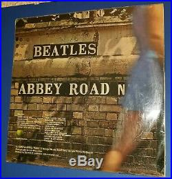 THE BEATLES ABBEY ROAD rare 1969 vinyl LP NO HER MAJESTY Drain visible Yex 749A