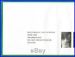THE BEATLES APPLE EP-1 #0661 White Vinyl! With fold open mini-poster