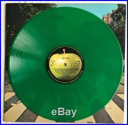 THE BEATLES Abbey Road Very Rare Original UK Green Vinyl Export (Record)