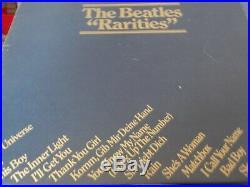 THE BEATLES BLUE BOX VINYL Collection 14-LP Box Set UK BC-13 STEREO 1978