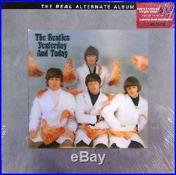 THE BEATLES BOX 5LP+2CD+1DVD -VINYL-yesterday and today-the real alternate album