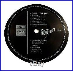 THE BEATLES Beatles For Sale JAPAN Ltd. Edition Archive Master RED VINYL MONO