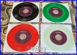 THE BEATLES CEMA Jukebox Only COLOR VINYL (16-45rpm) SET Volume 1 1994 NM/M