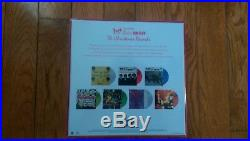 THE BEATLES CHRISTMAS RECORDS BOX SET- 7 COLOR VINYL 45's- SEALED! (2017)