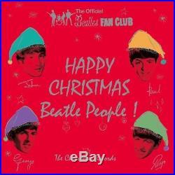 THE BEATLES CHRISTMAS RECORDS Happy Christmas Beatle People VINYL BOX SET NEW